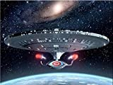 AItmp Kit de Broderie Complet de Peinture Star Diamond Trek DIY 5D 40X50Cm