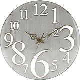 不二貿易壁掛け時計 レトロ ホワイト 56920 1個 不二貿易