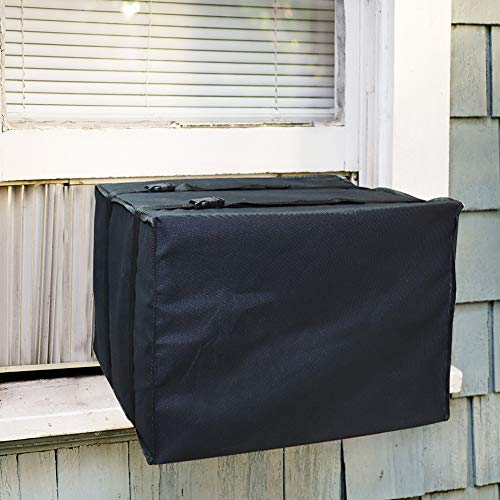 LEBOO Window Air Conditioner Unit Cover - Durable AC Cover Dust-Proof Waterproof AC Cover for Outside Window (21' W x 15' H x 16' D)