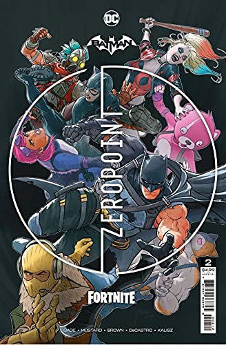 Batman Fortnite Zero Point #2 Second Printing with Code