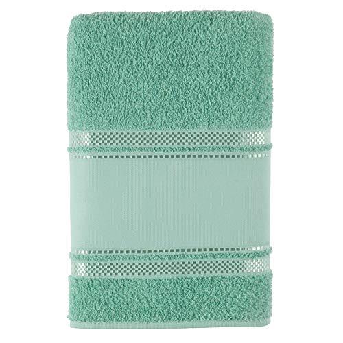 Toalha de Rosto Valentine, Teka, 100% algodão, Verde Claro