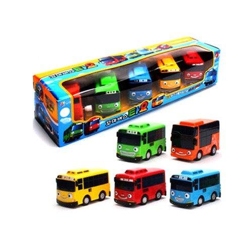 TAYO Der kleine Bus, Tayo + Rogi + Gani + Rani + Citu,5 Pcs set