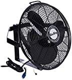 Air King 18 Inch 1/6 HP Industrial Grade 3 Blade Wall Mounted Fan | 9518