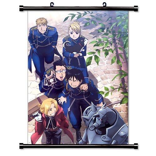Full Metal Alchemist Anime Fabric Wall Scroll Poster (16' x 22') Inches. [WP]-FullMetalAlch-570