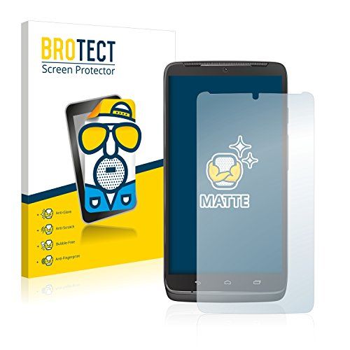 BROTECT 2X Entspiegelungs-Schutzfolie kompatibel mit Motorola Droid Turbo Bildschirmschutz-Folie Matt, Anti-Reflex, Anti-Fingerprint
