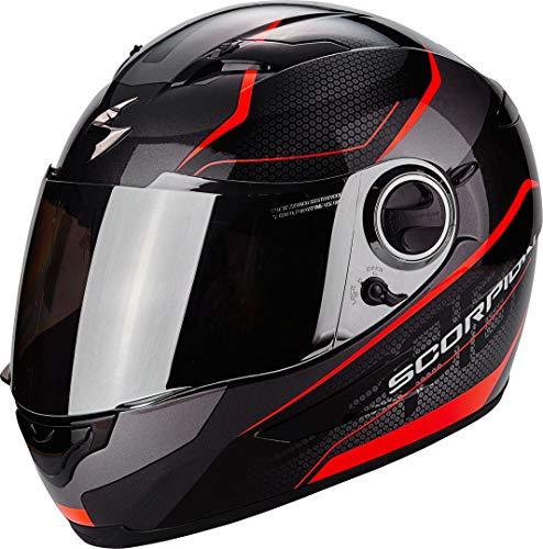 Scorpion Casco moto EXO-490 VISION Nero-Neon Rosso XXL