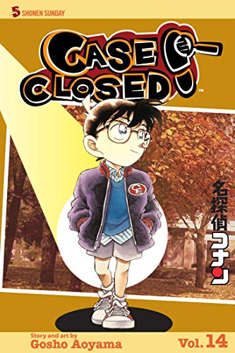 Case: Closed Book 14 Includes Vol 40 - 41 - 42 Great Mystery Graphic Novel Manga For Adults, Teenagers, Kids, Fan Lover (English Edition)
