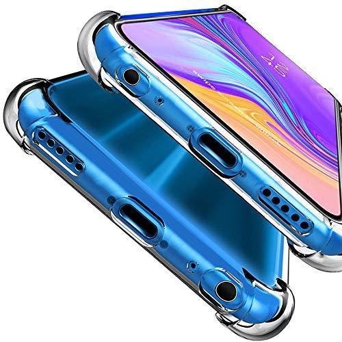 MISKQ Hülle für Huawei Honor 9X Pro/Honor 9X,Hochtransparente Softshell,Vier-Ecken-Airbag,Anti-Drop,staubdicht,hochwertiger Handy-Koffer