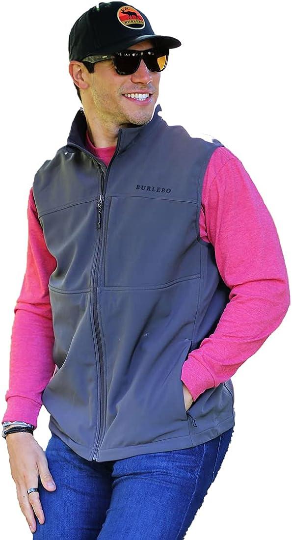 Burlebo Men's Fleece Lined Performance Vest