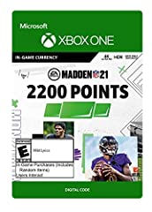 2200 Madden Points to customize your avatar with new uniform designs Showcase your creativity as you rise to fame.