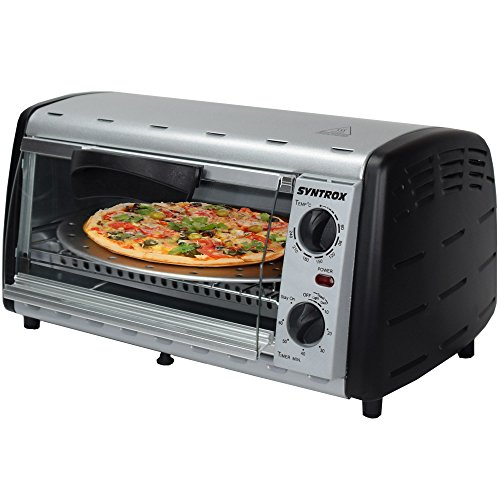 Syntrox Germany Back Chef 12 Liter Mini Stand Backofen Miniofen Minibackofen Pizzaofen