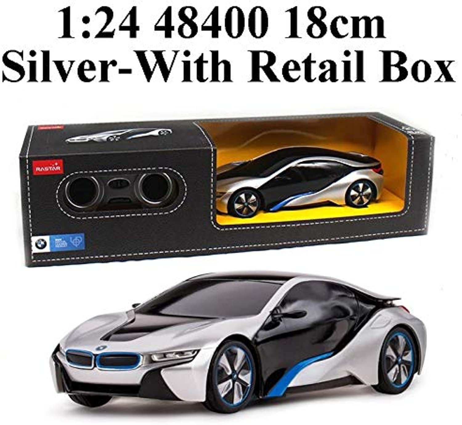 Generic Rastar 1 24 Electric Mini RC Cars Collection Remote Control Toys Radio Controlled Cars Toys for Boys Kids Gifts Girls Toys 2999 48400 Silver in Box