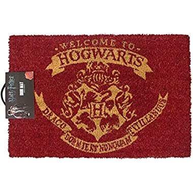 TruffleShuffle Harry Potter Welcome To Hogwarts Door Mat