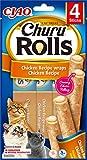 INABA Churu Rolls - Katzen Leckerlie zum Füttern aus der Hand - Köstliche Katzensnacks mit...