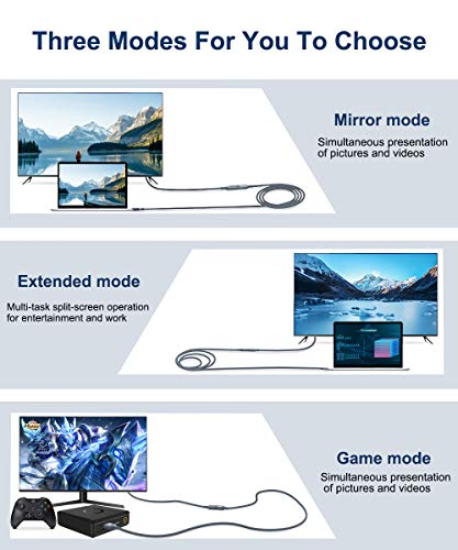 AkoaDa HDMI Male to Female Extension Cord 1m,4K@60Hz High Speed 18Gbps HDMI 2.0 Kable,Video 4K 2016P HD, 1080P 3D,Blue-ray