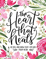 pink flowers, the heart that heals book cover