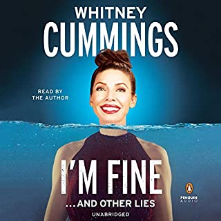 I'm Fine...and Other Lies audiobook cover art