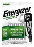 ENERGIZER Blister de 4 Accus Piles rechargeables HR03 Power Plus AAA 700mah