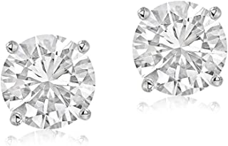 Made in USA Diamond Earrings IGI Certified 10K & 14K Diamond Earrings for Women 1/6 to 1 Carat Lab Created Diamond Earrings For Women Lab Grown Diamond Stud Earring GH-SI1 Diamond Engagement Ring