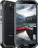 DOOGEE S40 Pro Outdoor Handy Wasserdichtes Smartphone Ohne Vertrag Android 10 4G Dual SIM 4GB+64GB 5,45 Zoll HD+ Display 13MP+5MP Kamera 4650mAh Akku NFC GPS(Grün)