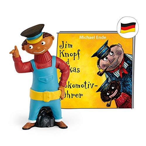 tonies Hörfiguren für Toniebox: Jim KNOPF & Lukas DER LOKOMOTIVFÜHRER Figur - 52 Min - ab 4 Jahre - DEUTSCH