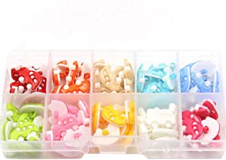 George Jimmy 100 Pcs Cute Children Buttons Baby Shirts Sweaters Buttons Round Buttons Accessories #12
