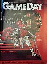 GameDay Magazine - Kansas City Chiefs vs. Dallas Cowboys - September 20,1983 - Texas Stadium - An Official Publication Of The NFL