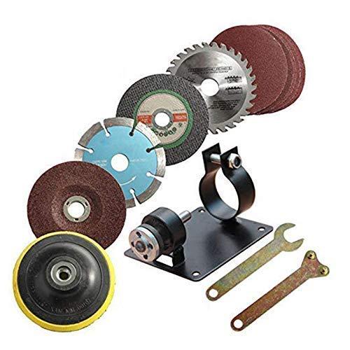 GJNVBDZSF Kit de reparación 15 Unids/Set Taladro Manual Corte Rectificado Asiento Soporte Soporte de la máquina Soporte de la máquina Juego de Llaves de Almohadilla de Pulido