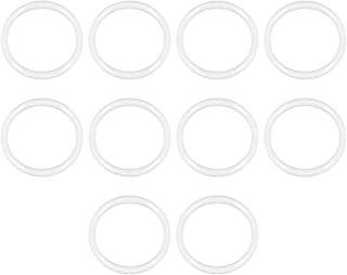 Seal Gasket White 20Pcs 25mm Inner Diameter 1.5mm Width uxcell Silicone O-Rings 28mm OD