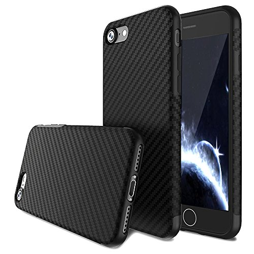 iPhone 6S Case,iPhone 6 Case,L-JUWA Luxury Carbon Fiber Line Flexible TPU...