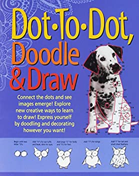 Paperback Dot to Dot, Doodle & Draw Book