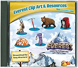 Everest VBS Vacation Bible School Clip Art & Resources CD. Package of 1