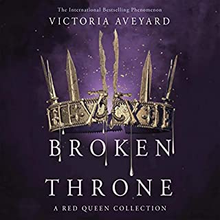 Broken Throne                   By:                                                                                                                                 Victoria Aveyard                               Narrated by:                                                                                                                                 Amanda Dolan,                                                                                        Vikas Adam,                                                                                        Charlie Thurston,                   and others                 Length: 14 hrs and 10 mins     1 rating     Overall 2.0