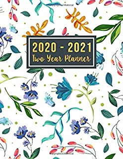 2020-2021 Two Year Planner: 2020-2021 see it bigger planner | 24-Month Planner & Calendar. Size: 8.5