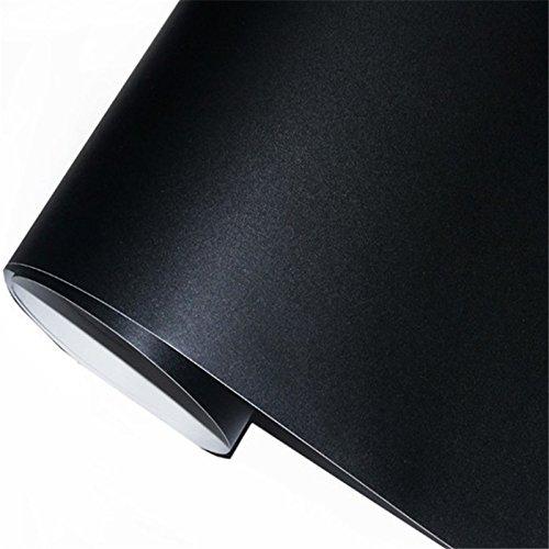 zanasta® Multifunktions - Tafelfolie selbstklebend | 90 x 200cm | Premium Tafel Folie Kreidetafel für die Wand, Schwarz