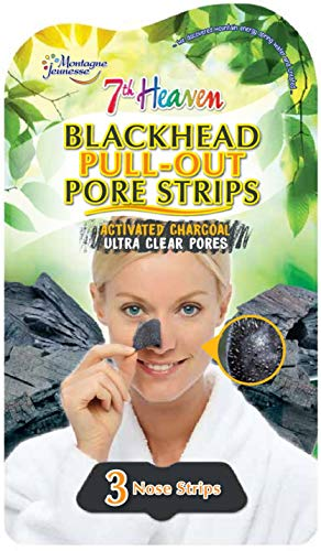 Montagne Jeunesse Charcoal Nose Pore Strips Woman, Verde, 21 g