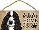 cocker spaniel door sign
