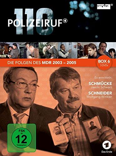 Polizeiruf 110 - MDR-Box 6 [3 DVDs]