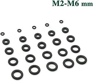 Round M2x025 Buna-N O-Ring 70A Durometer Black 29 mm OD Pack of 1000 25 mm ID Buna-N 2 mm Width