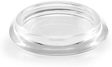 GLEITGUT Meubelonderzetters transparant onderzetters rond 4 stuks meubelbescherming transparant (40)