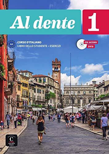 Al dente 1 (A1). Internationale Ausgabe. Libro dello studente + esercizi + CD + DVD