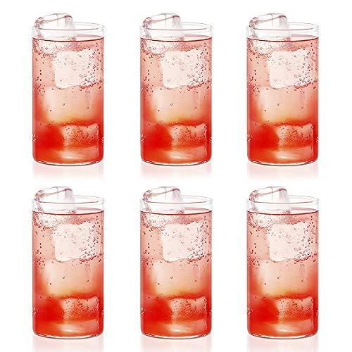 Borosil Vision Glass Set, 350 ml, Set of 6, Transparent
