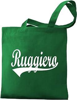 Eddany Ruggiero Baseball Style Canvas Tote Bag
