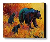 N / A Pintura sin Marco Best Bears Artwork Home Decor on Abstract Animal Oil Painting Canvas40X60cm