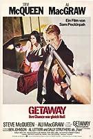 The Getaway 映画ポスター (27 x 40 インチ - 69cm x 102cm) (1972) スタイル C - (スティーブ・マクィーン) (アリ・マグロー) (ベン・ジョンソン) (サリー・ストラザーズ) (アル・レティエリ) (スリムピックン)