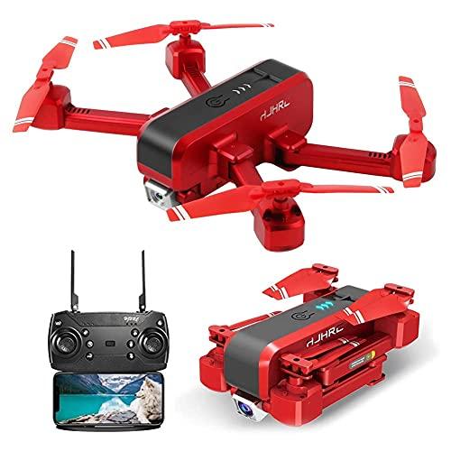 Drone con cámara GPS Drone con cámara 4K para adultos, 5G Wifi Transmission FPV Live Video Drone, RC Quadcopter con retorno automático a casa, Sígueme, Waypoints, Circle Fly, para adultos y principia