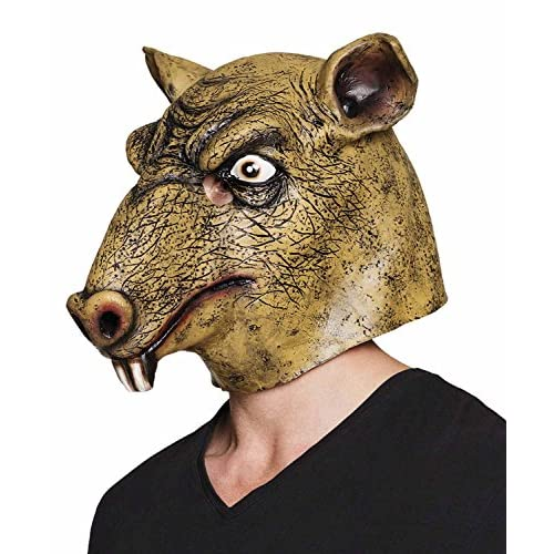 Maschera Ratto in lattice