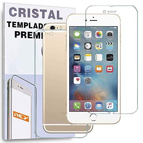 REY Protector de Pantalla Delantero + Trasero para iPhone 6 Plus /...