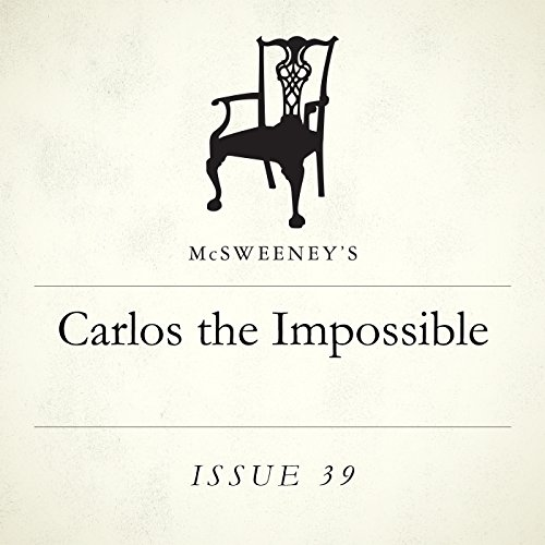 Carlos the Impossible audiobook cover art