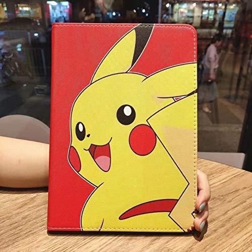 Mini 5 Case For Apple Ipad Mini 1 2 3 4 Case Cartoon Pokemon Go Pikachu Tablet Pu Leather Cover Flip Stand Shell Coque Para,As Photos